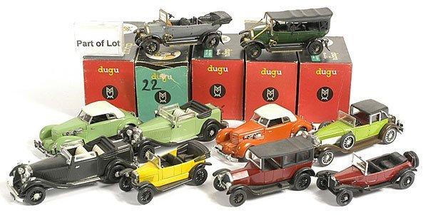 316: Dugu - A Group of Veteran/Vintage Cars