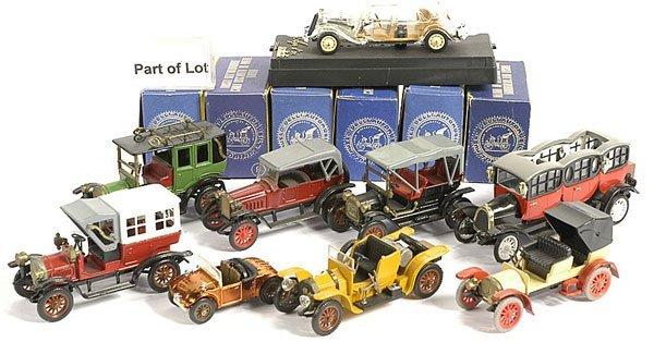 317: RW Models/Ziss - Vintage/Veteran Cars