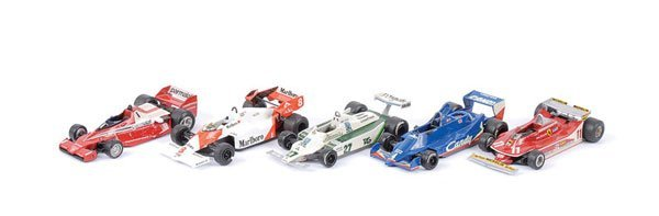 1604: Western Models - A Group of Racing Cars