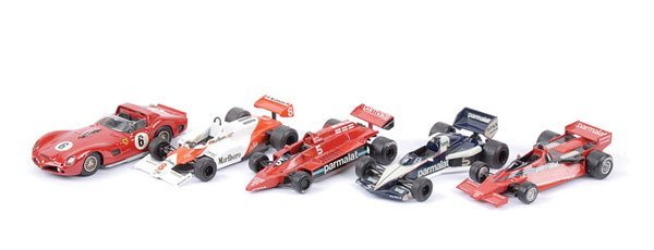 1605: Western Models - A Group of Racing Cars