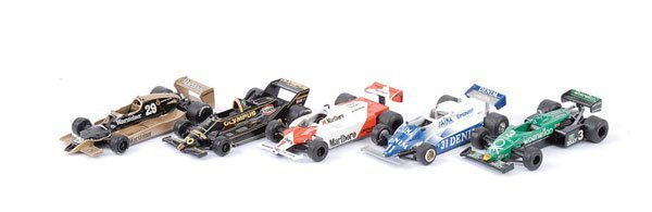 1607: Western Models - A Group of Racing Cars