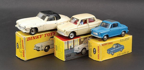 2002: French Dinky - A Group of Cars
