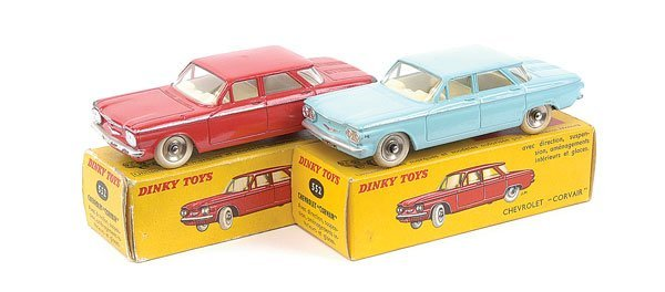 2007: French Dinky - 2 x No.552 Chevrolet Corvair