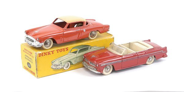 2008: French Dinky Studebaker and Chrysler Cars