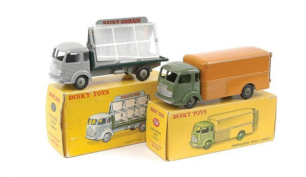 2009: French Dinky - A Pair of Simca Cargo Trucks