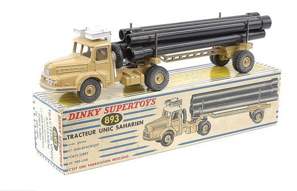 2014: French Dinky No.893 Unic Sahara Tractor