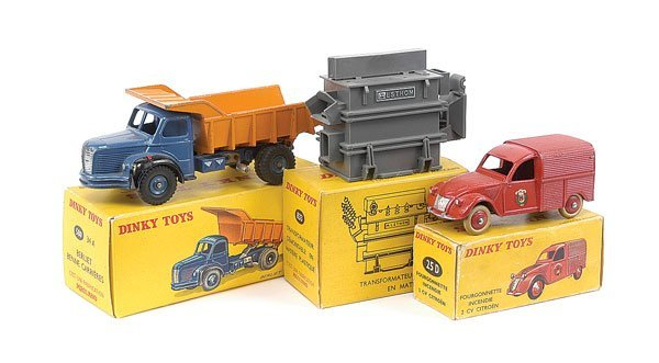 2018: French Dinky Citroen and Berliet Vehicles
