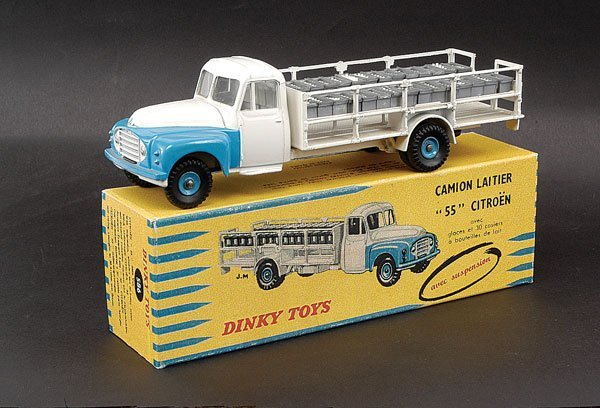 2022: French Dinky No.586 Citroen Milk Lorry