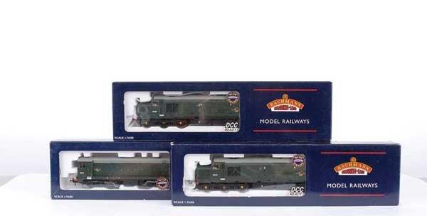 3007: Bachmann - A Trio of BR Green Diesels