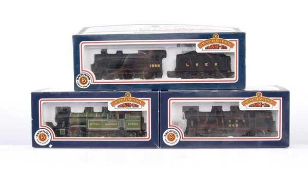 3021: Bachmann - A Trio of Steam Locos
