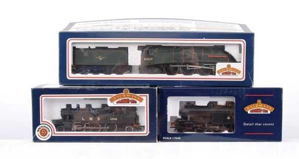 3022: Bachmann - A Trio of Steam Locos