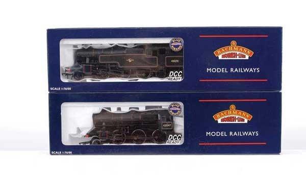 3023: Bachmann - A Pair of BR Black Steam Locos