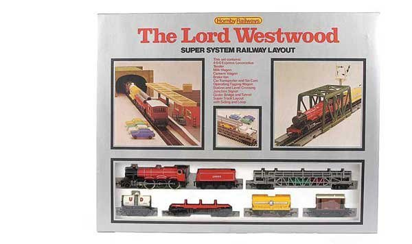 """3138: Hornby R542 """"The Lord Westwood"""" Set"""