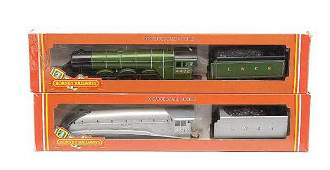 3158: Hornby Railways - 2 x 4-6-2 LNER Steam Locos