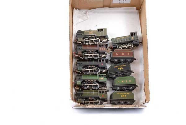 3475: Trix Twin Repainted Steam and Diesel Locos