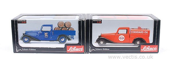 17: Schuco Pick-up Truck and Tanker