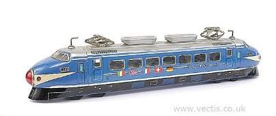260: ATC (Japan) Tinplate Euro Express Railcar