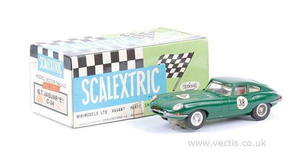 1001: Scalextric (Spanish issue) No.C34 Jaguar E-type