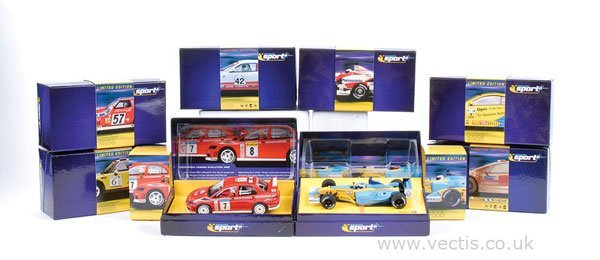 1005: Scalextric No.C2485A Mini Cooper & Others