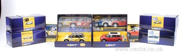 1007: Scalextric No.C2485A Mini Cooper & Others