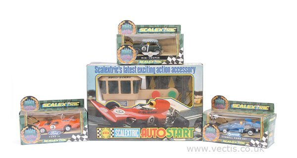 """1011: Scalextric """"The Power and the Glory"""" Series"""