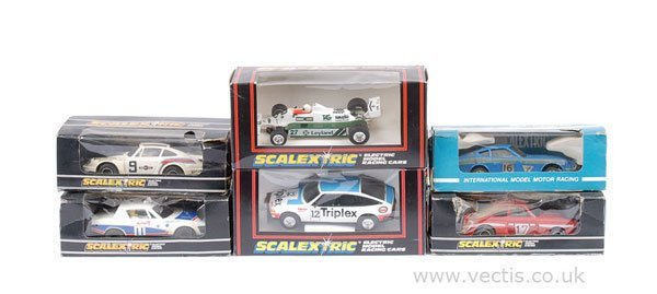 """1012: Scalextric No.C283 Rover 3500 """"Triplex"""" & Others"""