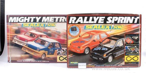 "1022: Scalextric Racing Sets No.C807 ""Rallye Sprint"""