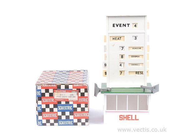 1024: Scalextric No.A201 Event Board and Hut