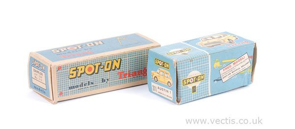 1230: Spot-on No.211 Austin 7 Mini Empty Box Only