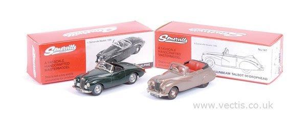 2001: Somerville No.137A Sunbeam Alpine 1953