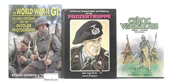 3017: Book-UNIFORMS, ORG' & HISTORY OF PANZERTRUPPE