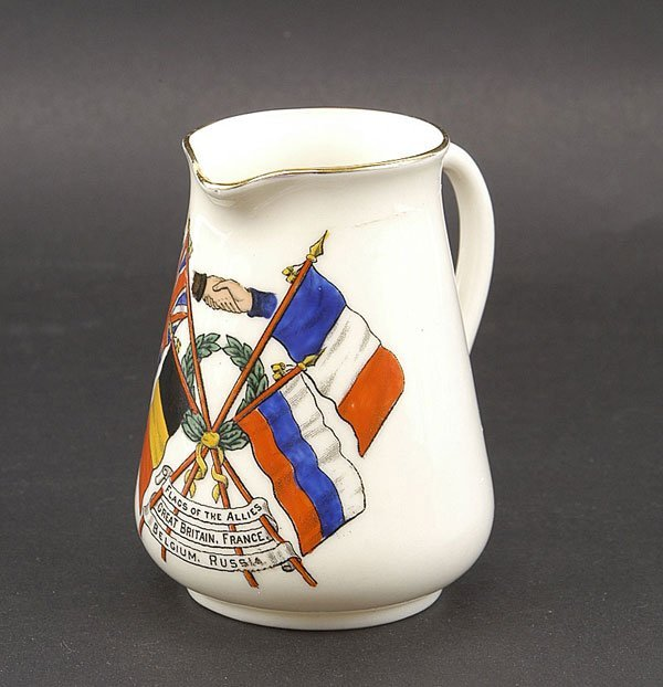 3021: Ceramics-Arcadian, Goss Etc - WW1 Crested China