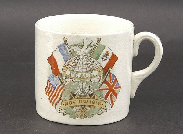 3022: Ceramics-Arcadian, Goss Etc - WW1 Crested China