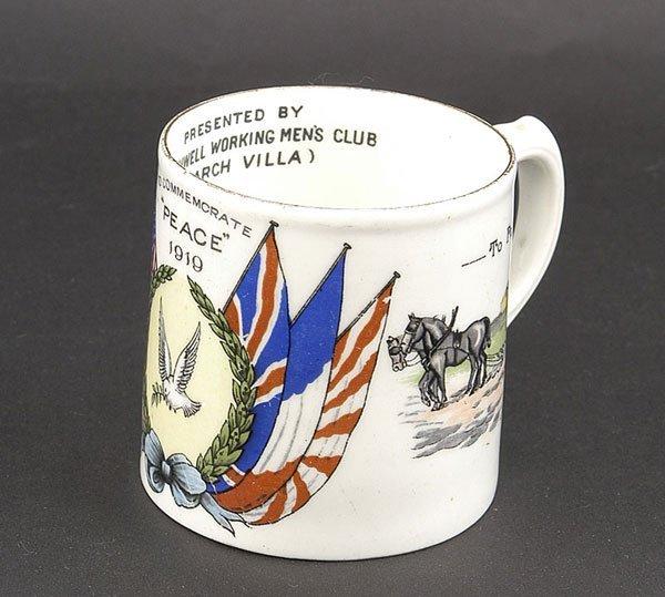 3023: Ceramics-Arcadian, Goss Etc - WW1 Crested China