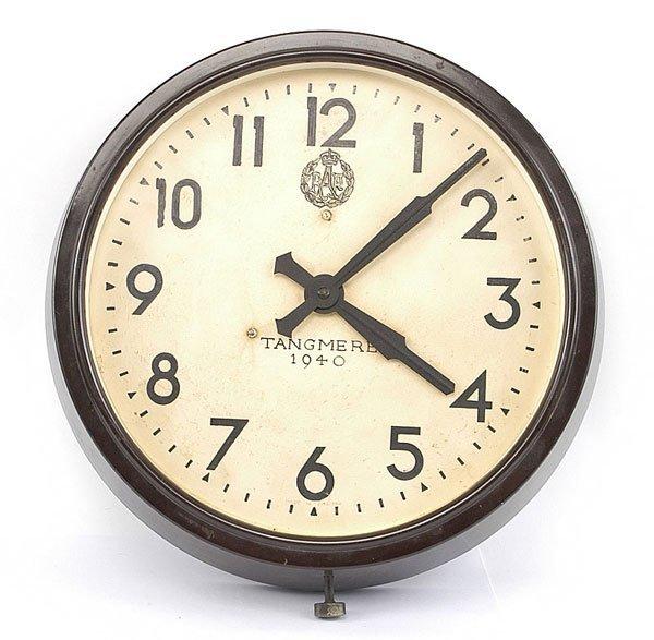"3024: Militaria-Smiths Clocks LTD,RAF-""Tangmere 1940"""