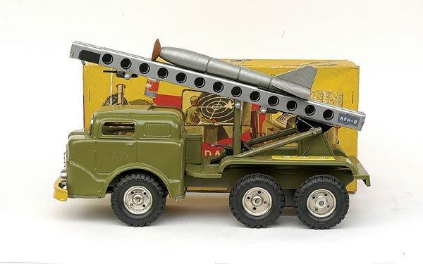 603: Gama No.270 6-wheeled Rocket Launcher