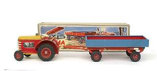 Gama No.1764 Tractor and Trailer