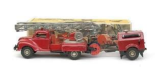 Gama No.260/9 4-wheeled Turntable Fire Engine