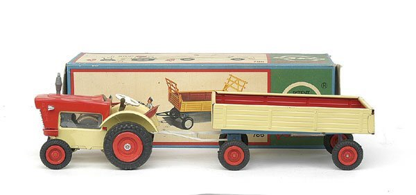 614: Gama No.786 Tractor and Trailer