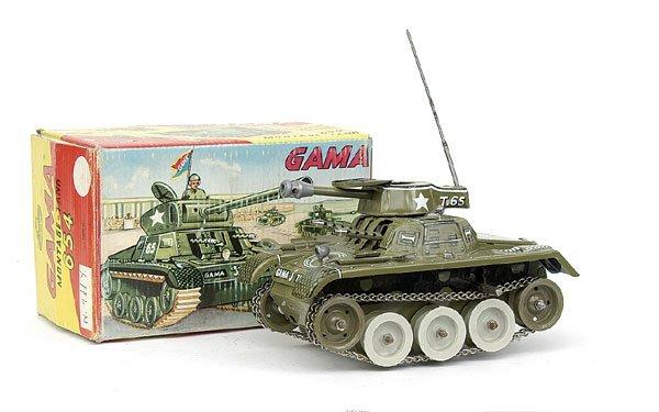 616: Gama No.654 Military Tank