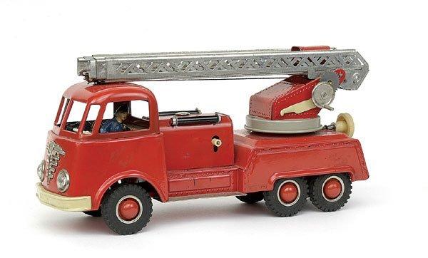 618: Gama 6-wheeled Turntable Ladder Fire Engine