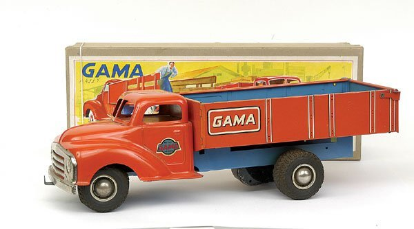 620: Gama No.255 long bonneted Open-backed Truck