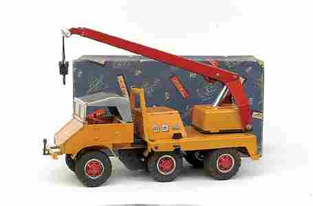 669: Tipp No.670 6-wheel Unimog Lorry Mounted Crane