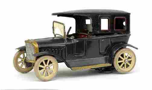765: An early tinplate clockwork Limousine by Marklin