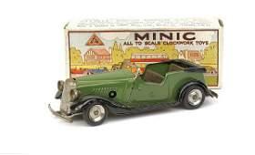 1180: Minic No.17M Post-war Vauxhall Tourer