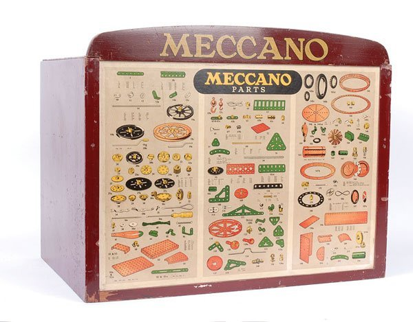 4002: Meccano 6-drawer Shop Display Cabinet