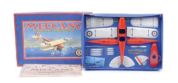 4005: Meccano No.O Aeroplane Constructor Outfit