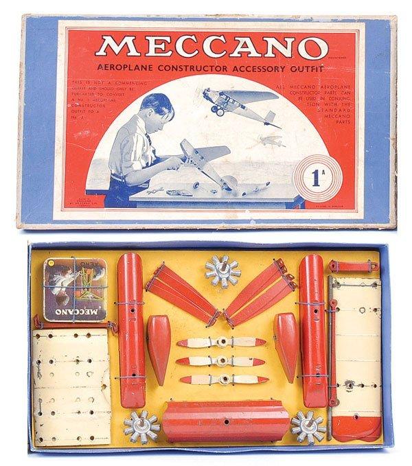4006: Meccano No.1A Aeroplane Constructor Outfit