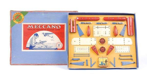 4007: Meccano No.1AS Aeroplane Accessory Outfit