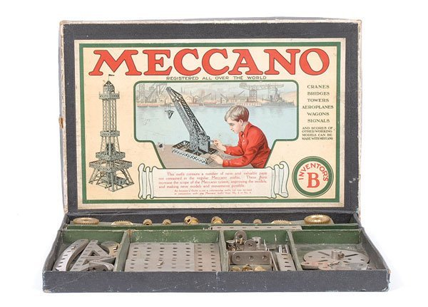"""4010: Meccano 1920s Inventors """"B"""" Outfit"""